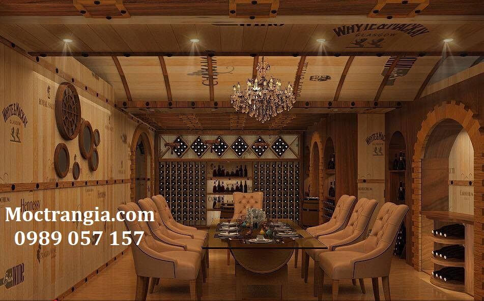 Thi Công Hầm Rượu Đẹp_Moctrangia