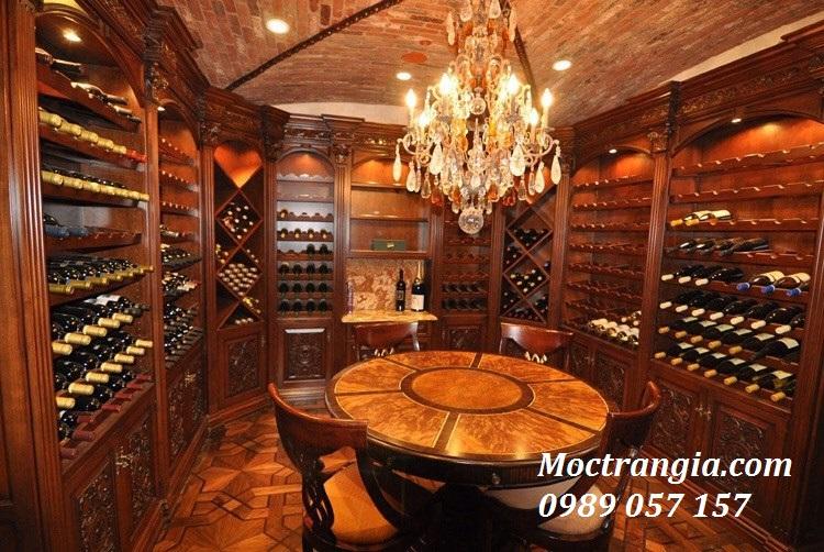 Thi Công Hầm Rượu Đẹp 015GT