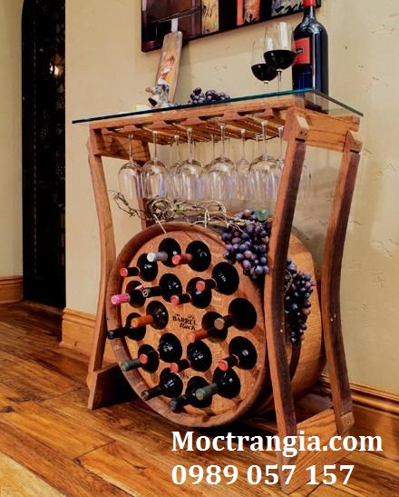 Kệ Rượu Đẹp Nhất Tp.HCM
