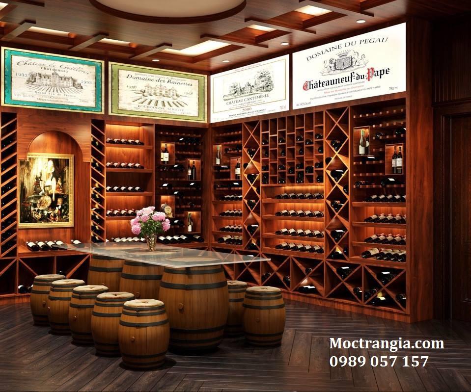 Thi Công Hầm Rượu Đẹp 011GT