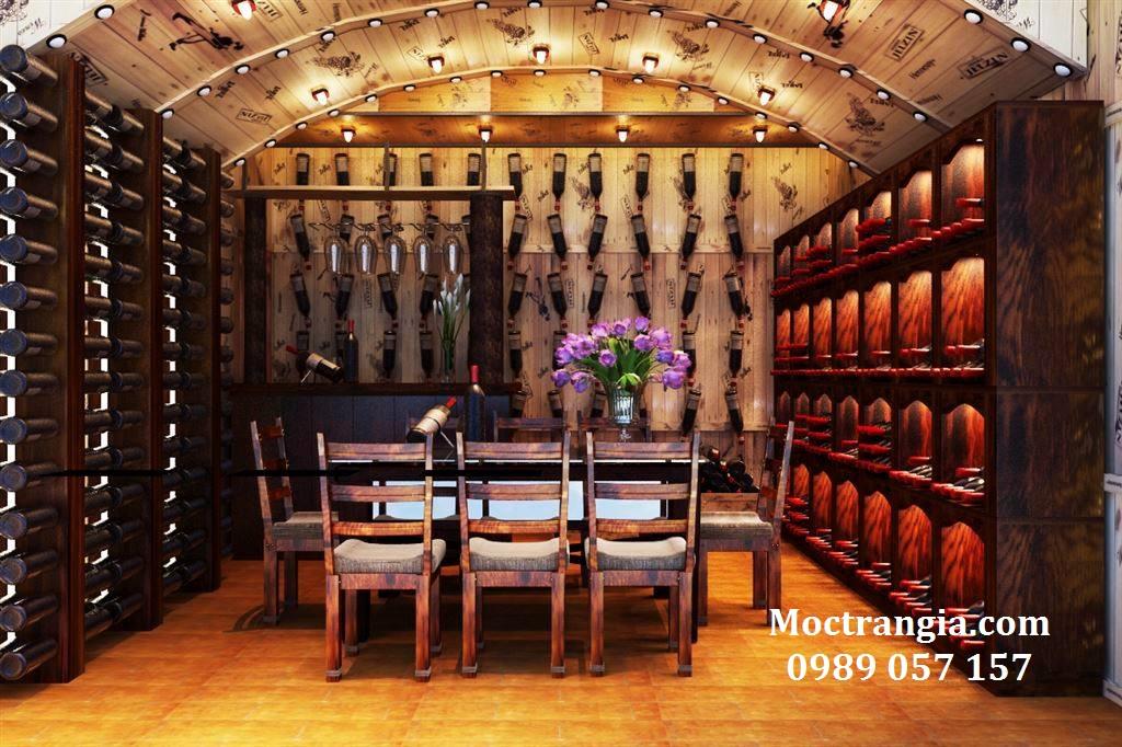 Thi Công Hầm Rượu Đẹp 025GT