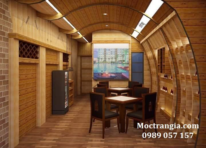 Thi Công Hầm Rượu Đẹp 023GT