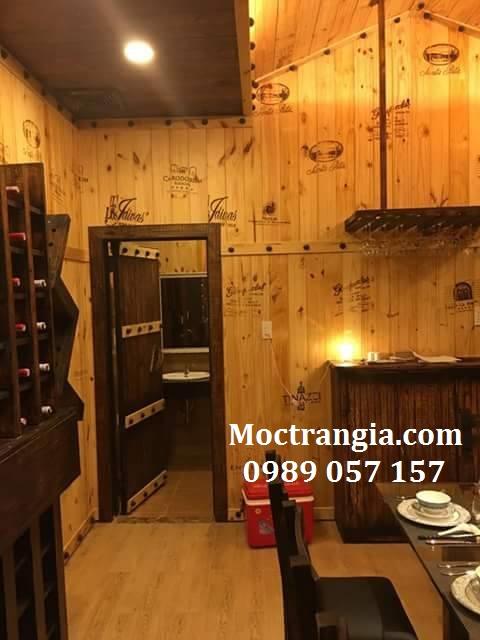 Ý Tưởng Thiết Kế Hầm Rượu Gia Đình Độc Đáo-Moctrangia.com