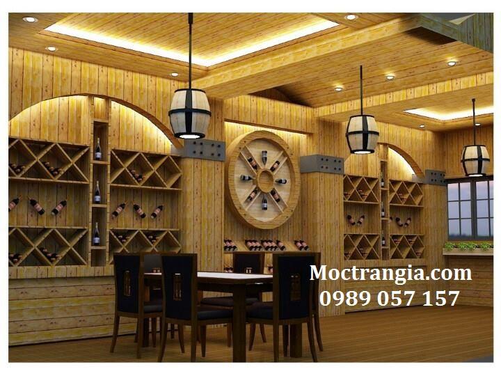 Thi Công Hầm Rượu Đẹp 029GT