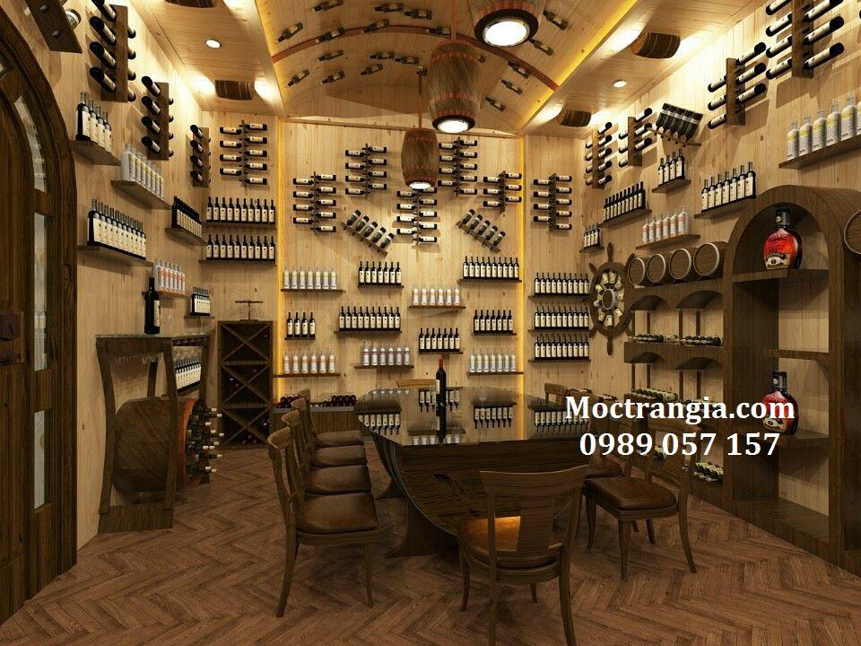Tư Vấn Thiết Kế Hầm Rượu Đẹp_Moctrangia