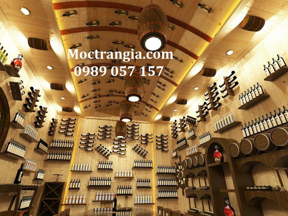 Thi Công Hầm Rượu Đẹp 047GT