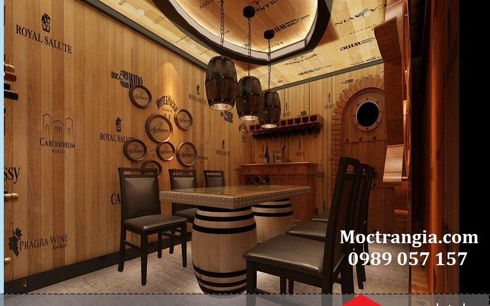 Thi Công Hầm Rượu Đẹp 083GT