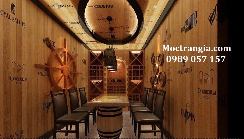 Thi Công Hầm Rượu Đẹp 087GT