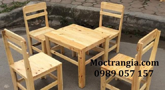 Bàn Ghế Quán Cafe 016GT