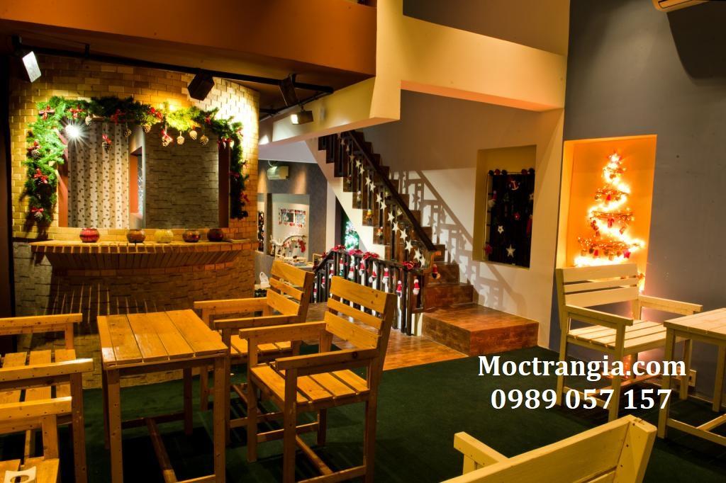 Bàn Ghế Quán Cafe 025GT