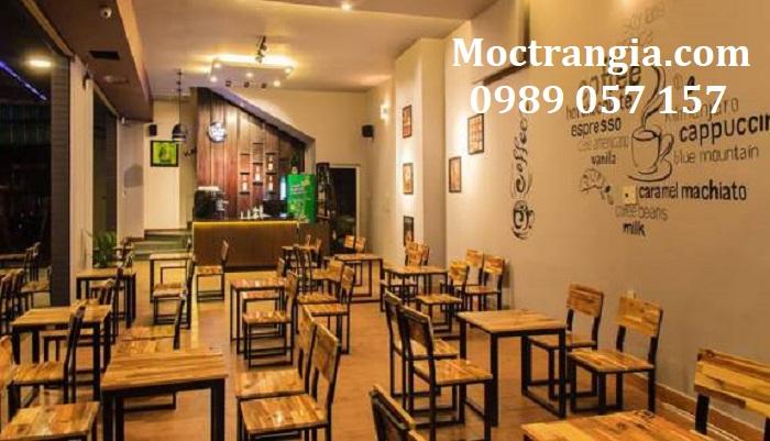 Bàn Ghế Quán Cafe 026GT