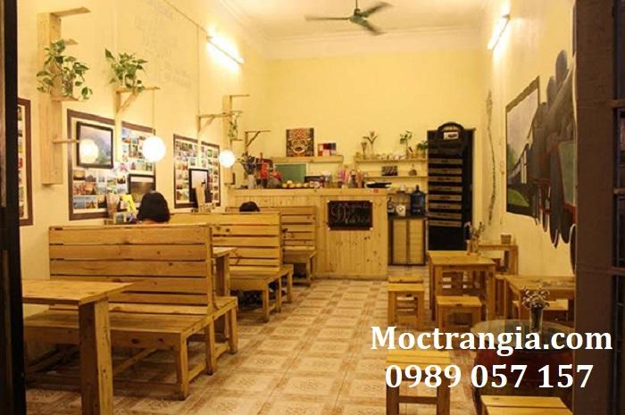 Bàn Ghế Quán Cafe 027GT