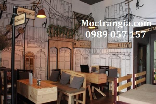 Bàn Ghế Quán Cafe 029GT