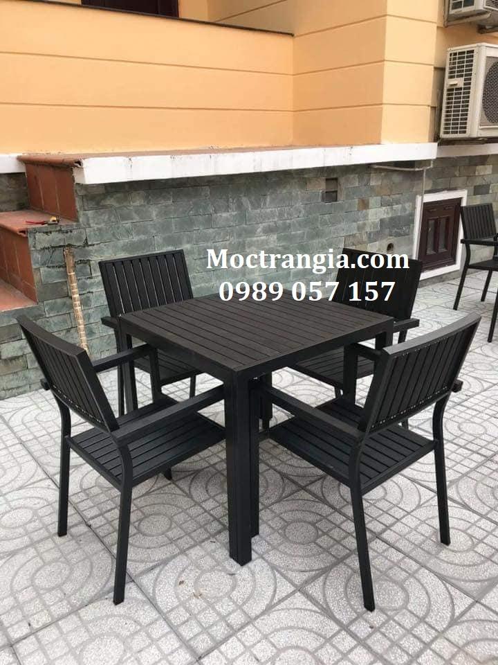 Bàn Ghế Quán Cafe 030GT