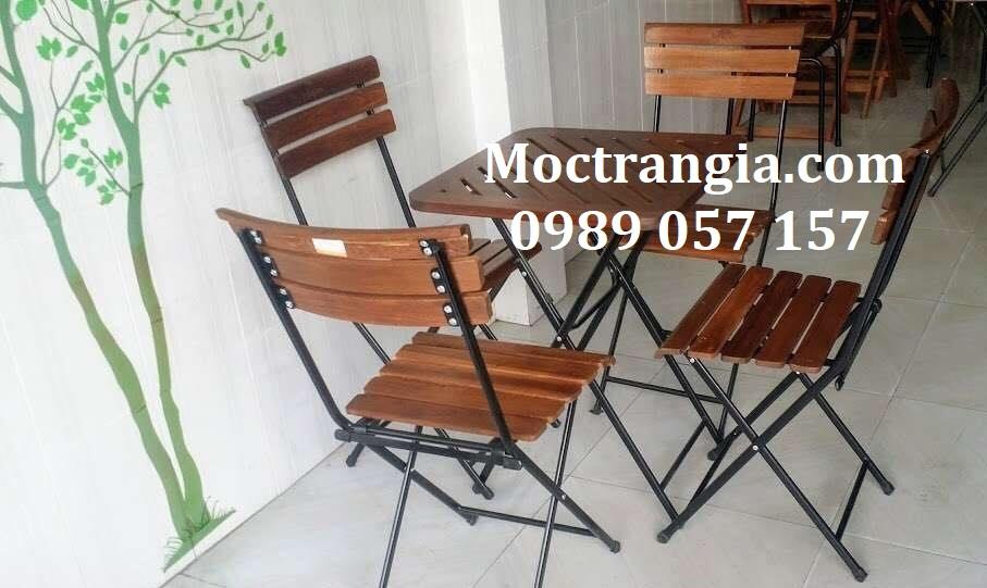 Bàn Ghế Quán Cafe 038GT