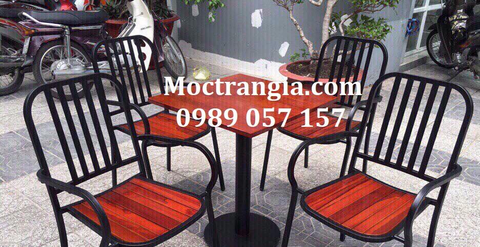Bàn Ghế Quán Cafe 043GT