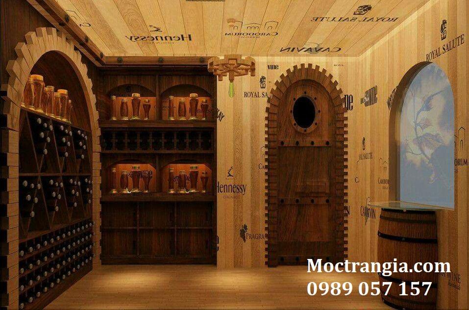 Thi Công Hầm Rượu Đẹp 076GT