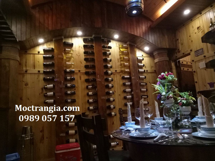 Thi Công Hầm Rượu Đẹp Tại Moctrangia