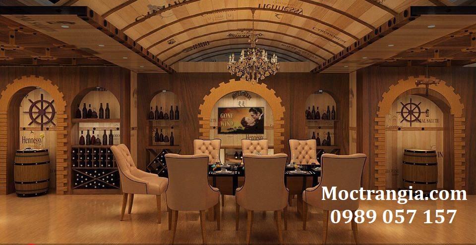 Thi Công Hầm Rượu Đẹp 071GT