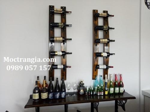 Kệ Rượu Đẹp 001-Moctrangia.com