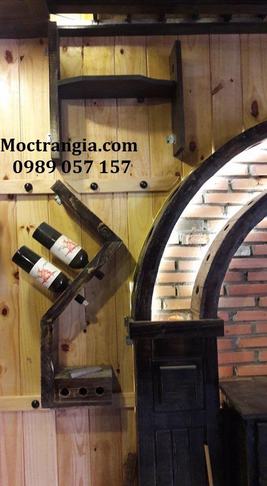 Kệ Rượu Đẹp 001GT