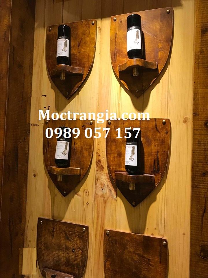 Kệ Rượu Treo Tường 028GT