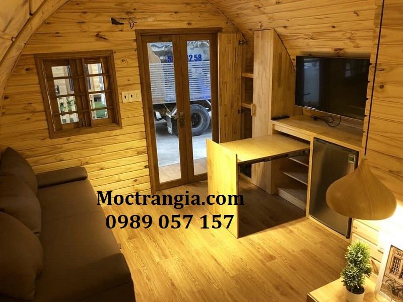 Nhà gỗ Homestay 021GT