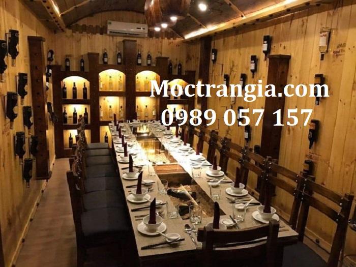 Nhà Hàng Hầm Rượu Đẹp 001GT