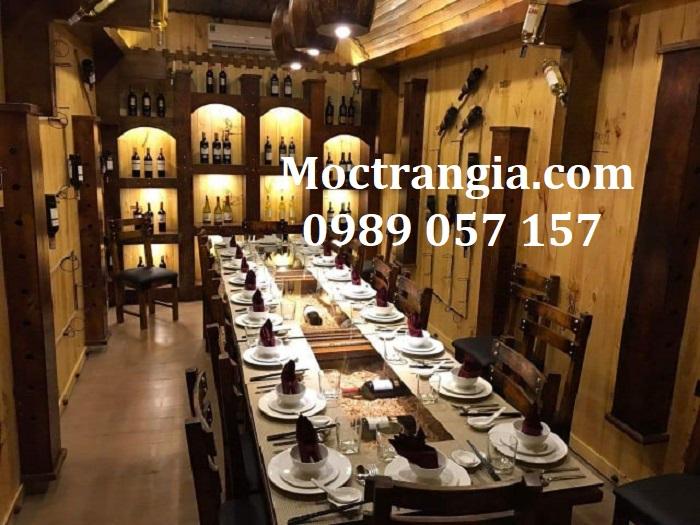 Nhà Hàng Hầm Rượu Đẹp 003GT