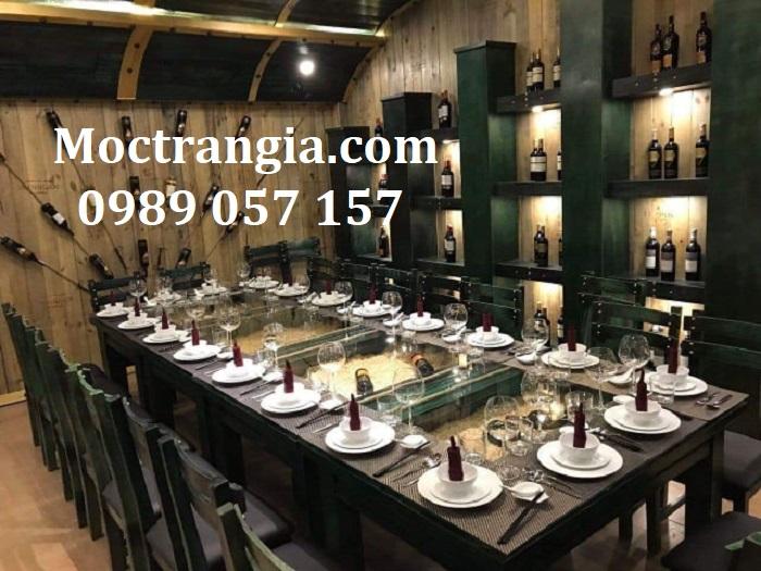 Nhà Hàng Hầm Rượu Đẹp 006GT