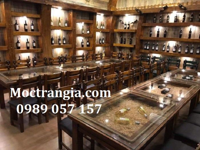 Nhà Hàng Hầm Rượu Đẹp 007GT