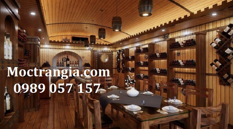 Nhà Hàng Hầm Rượu Đẹp 009GT