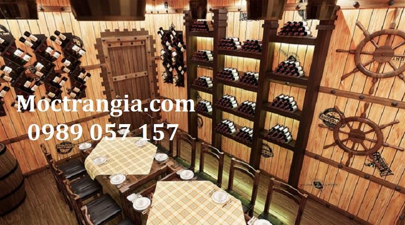 Nhà Hàng Hầm Rượu Đẹp 011GT
