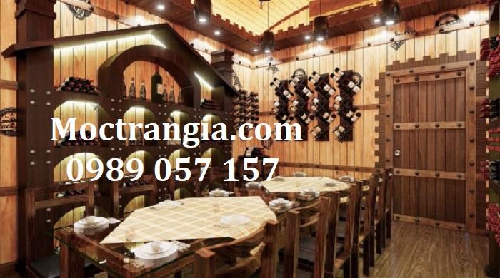 Nhà Hàng Hầm Rượu Đẹp 013GT