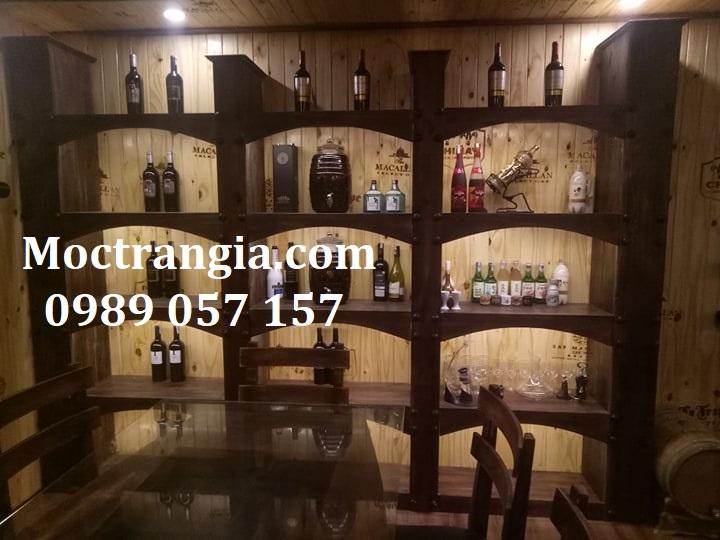 Nhà Hàng Hầm Rượu Đẹp 015GT