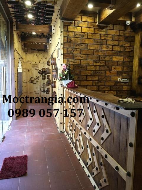 Nhà Hàng Hầm Rượu Đẹp 016GT