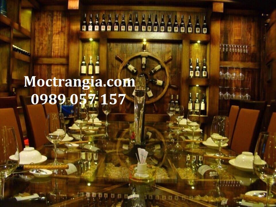 Nhà Hàng Hầm Rượu Đẹp 017GT