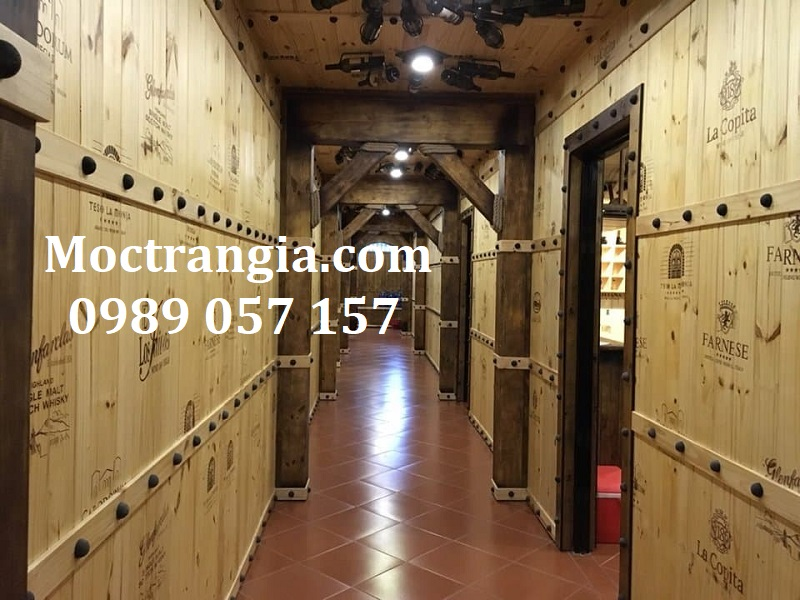 Nhà Hàng Hầm Rượu Đẹp 018GT