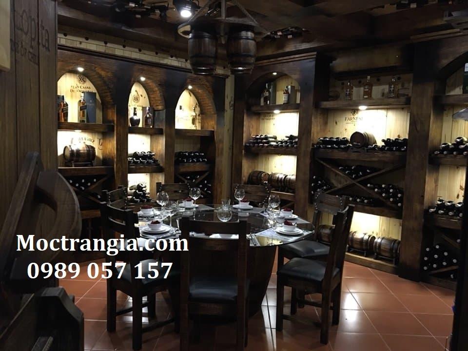 Nhà Hàng Hầm Rượu Đẹp 020GT