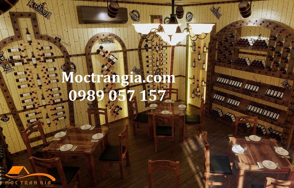 Nhà Hàng Hầm Rượu Đẹp 023GT