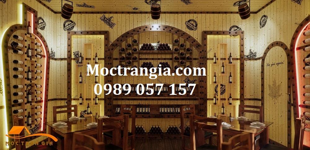 Nhà Hàng Hầm Rượu Đẹp 025GT