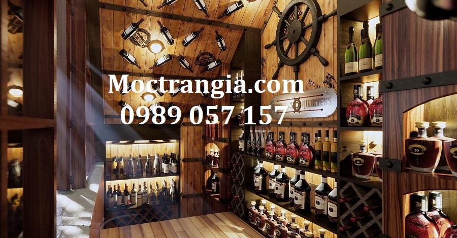 Nhà Hàng Hầm Rượu Đẹp 031GT