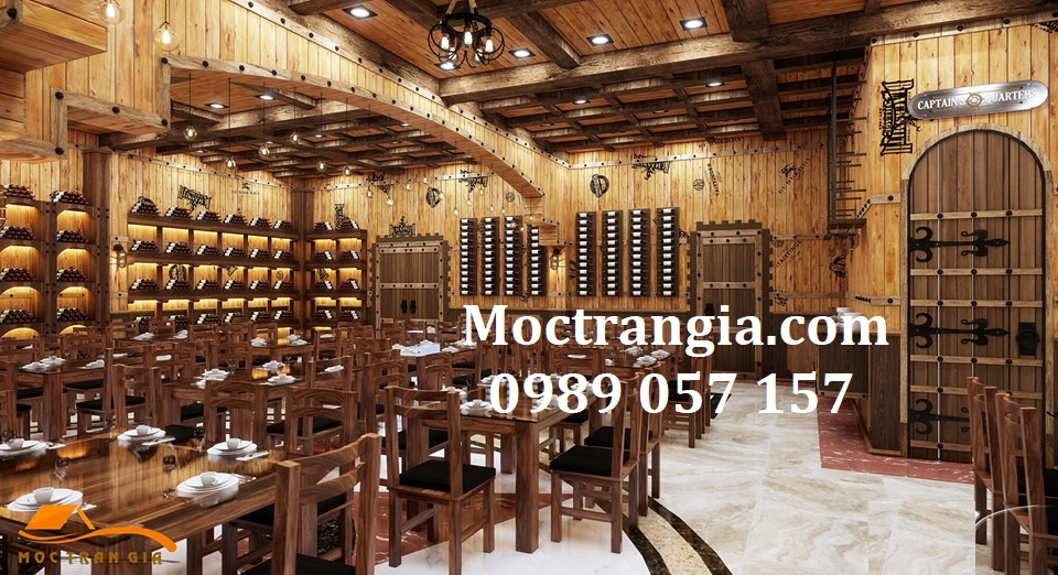 Nhà Hàng Hầm Rượu Đẹp 039GT