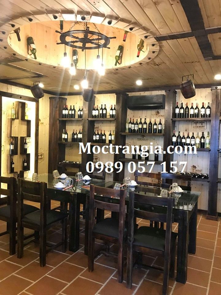 Nhà Hàng Hầm Rượu Đẹp 041GT
