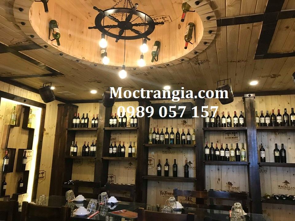 Nhà Hàng Hầm Rượu Đẹp 042GT