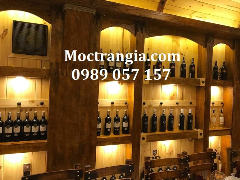 Nhà Hàng Hầm Rượu Đẹp 047GT