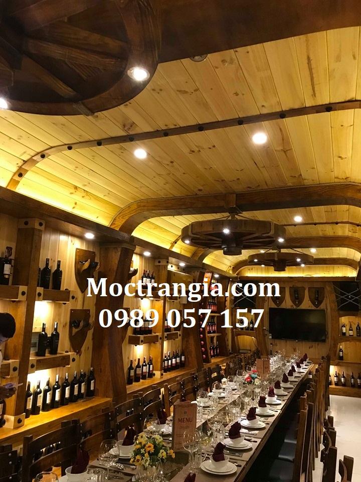 Nhà Hàng Hầm Rượu Đẹp 050GT