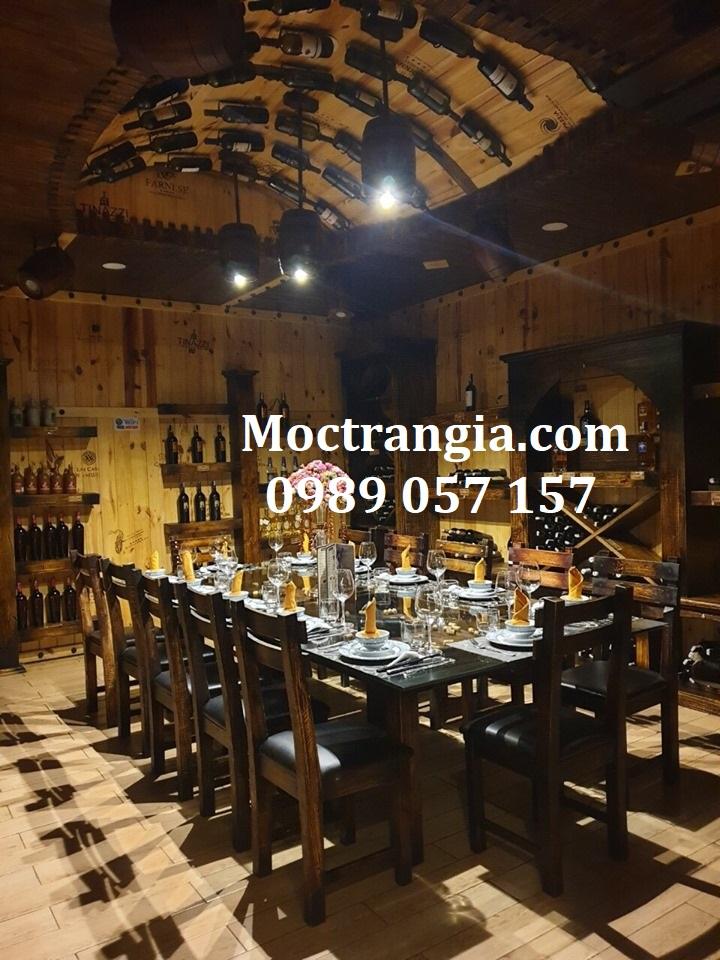Nhà Hàng Hầm Rượu Đẹp 053GT
