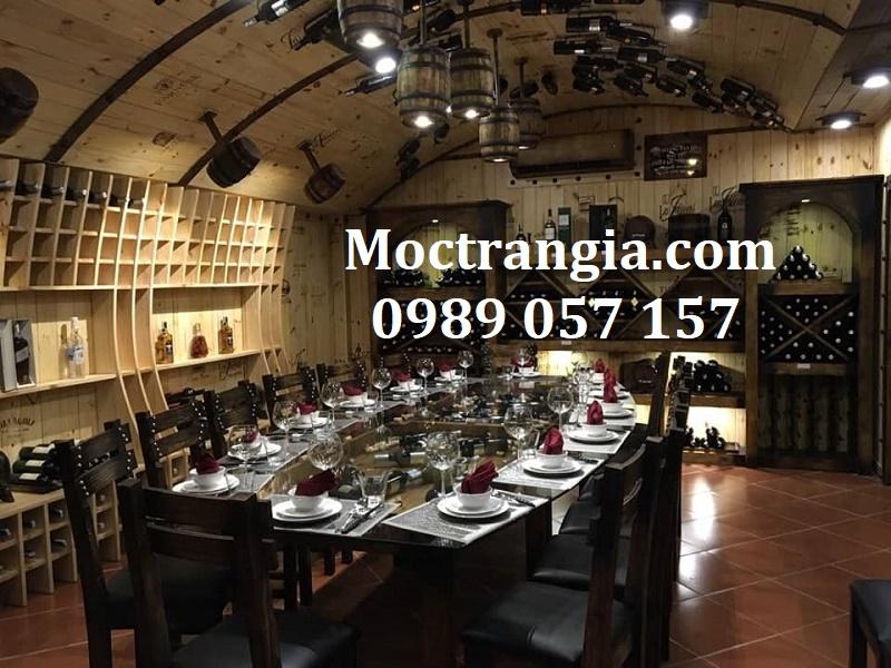 Nhà Hàng Hầm Rượu Đẹp 056GT