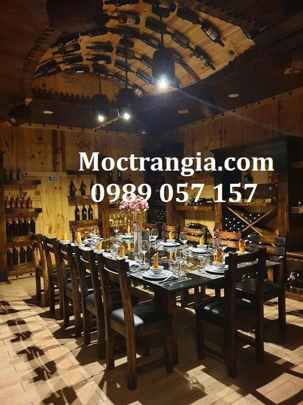 Nhà Hàng Hầm Rượu Đẹp 058GT